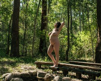 artistic nude natural light photo by model amaranthisme