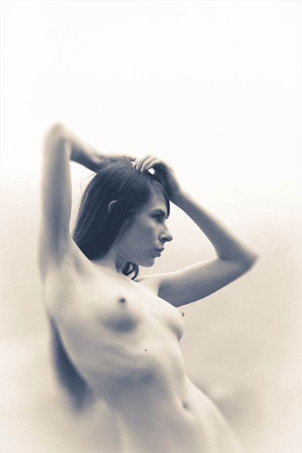 artistic nude natural light photo by photographer michael v