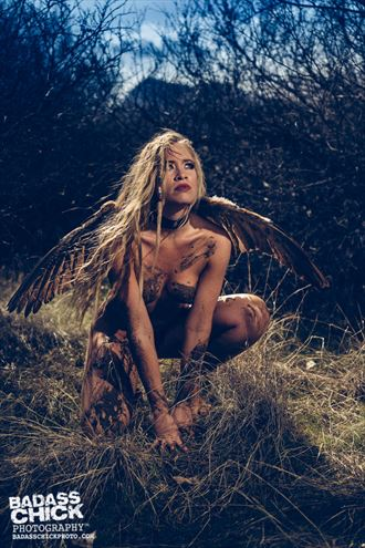 artistic nude nature photo by model andrea noeli