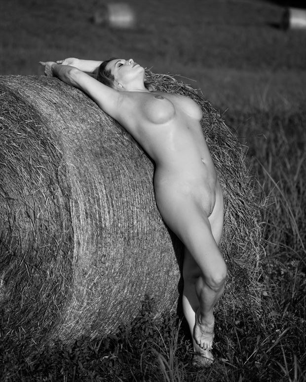 artistic nude nature photo by model angela mathis