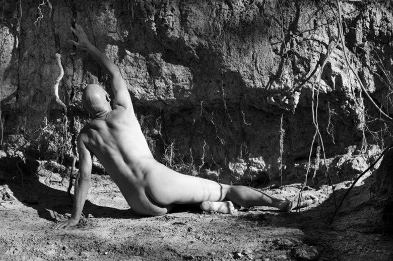 artistic nude nature photo by model artmodel richard