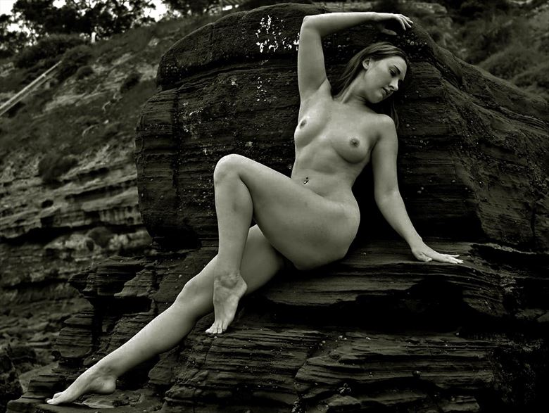 artistic nude nature photo by model becca briggs
