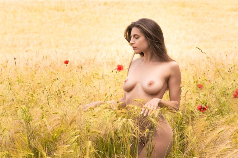 artistic nude nature photo by model irida s