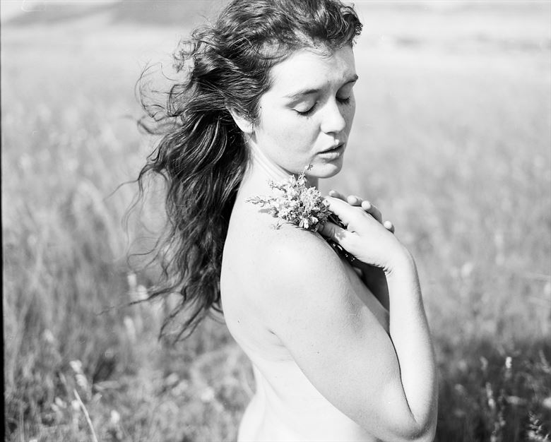 artistic nude nature photo by model jessa ray muse