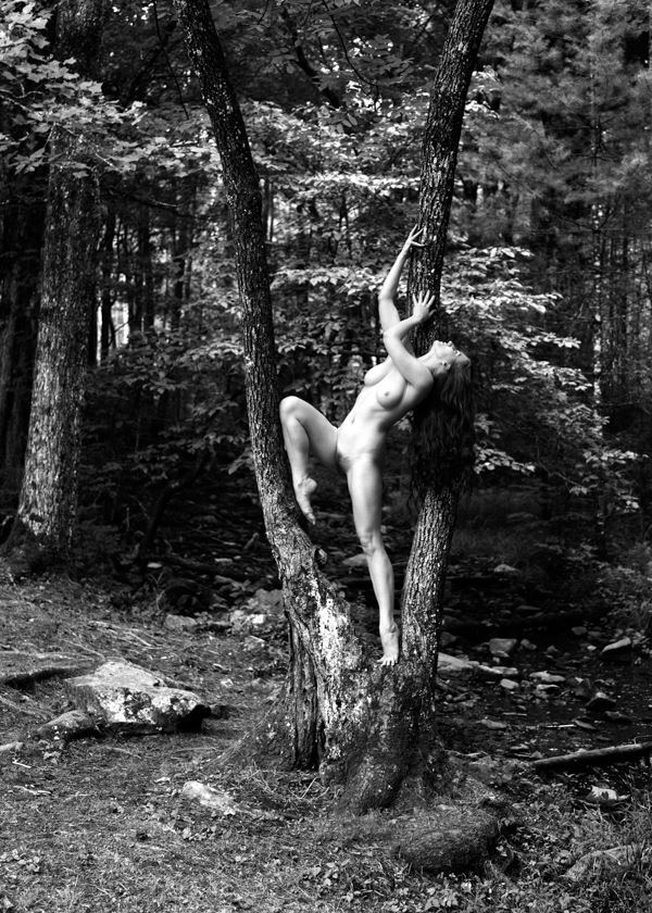 artistic nude nature photo by model katy t