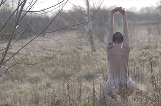 artistic nude nature photo by model linaill