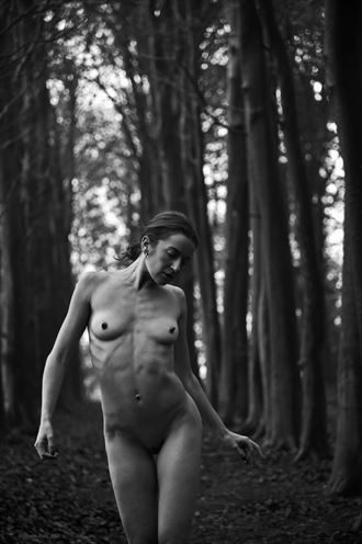 artistic nude nature photo by model madelainee