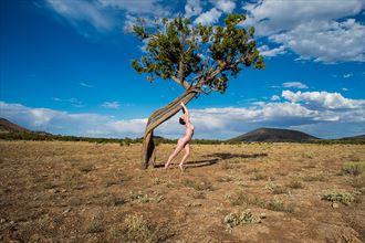 artistic nude nature photo by model marina valentine