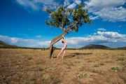 artistic nude nature photo by model marina valentine