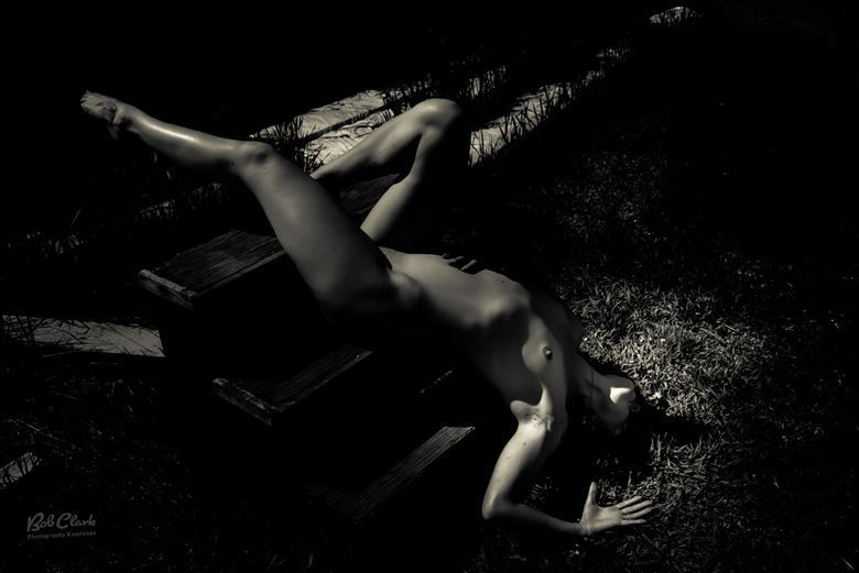 artistic nude nature photo by model michelle s