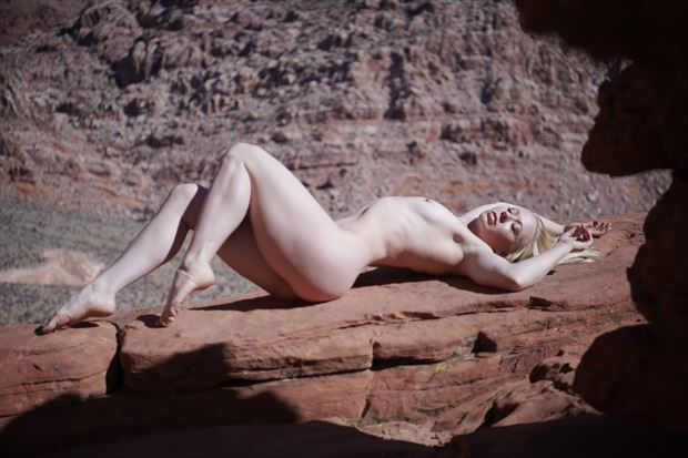 artistic nude nature photo by model mnewberry