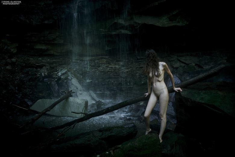 artistic nude nature photo by model vittoria