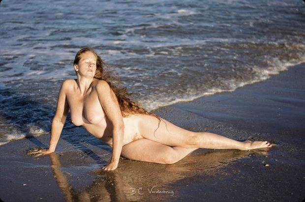 artistic nude nature photo by model xaina fairy