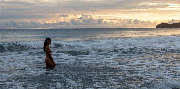artistic nude nature photo by photographer athol peters