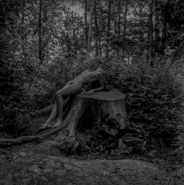 artistic nude nature photo by photographer christopher john ball