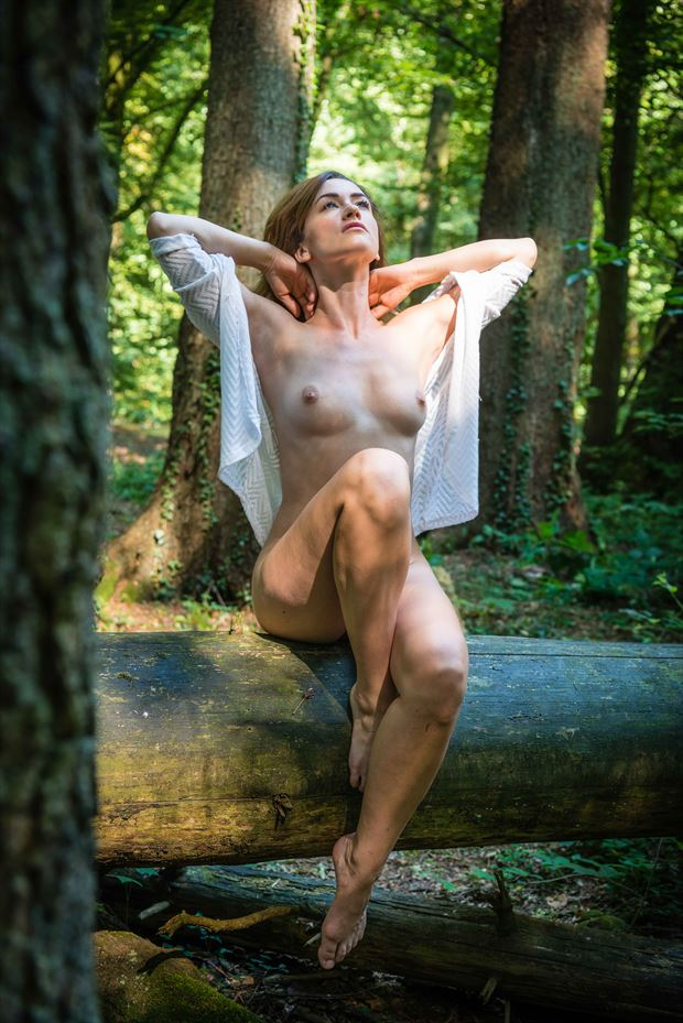 artistic nude nature photo by photographer cuthbert