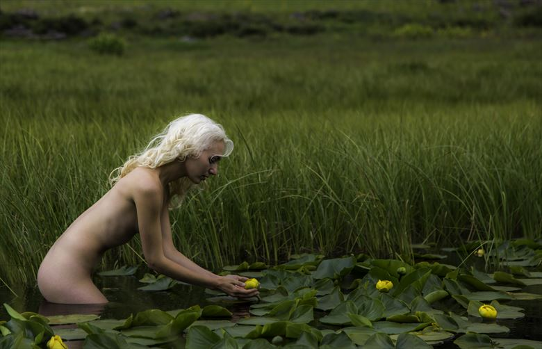 artistic nude nature photo by photographer lonnie tate