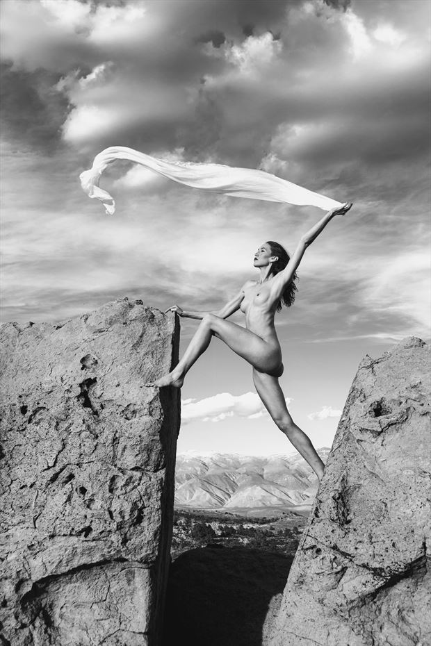 artistic nude nature photo by photographer philip turner