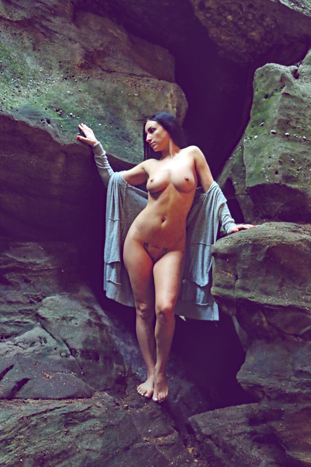 artistic nude nature photo by photographer robert l person