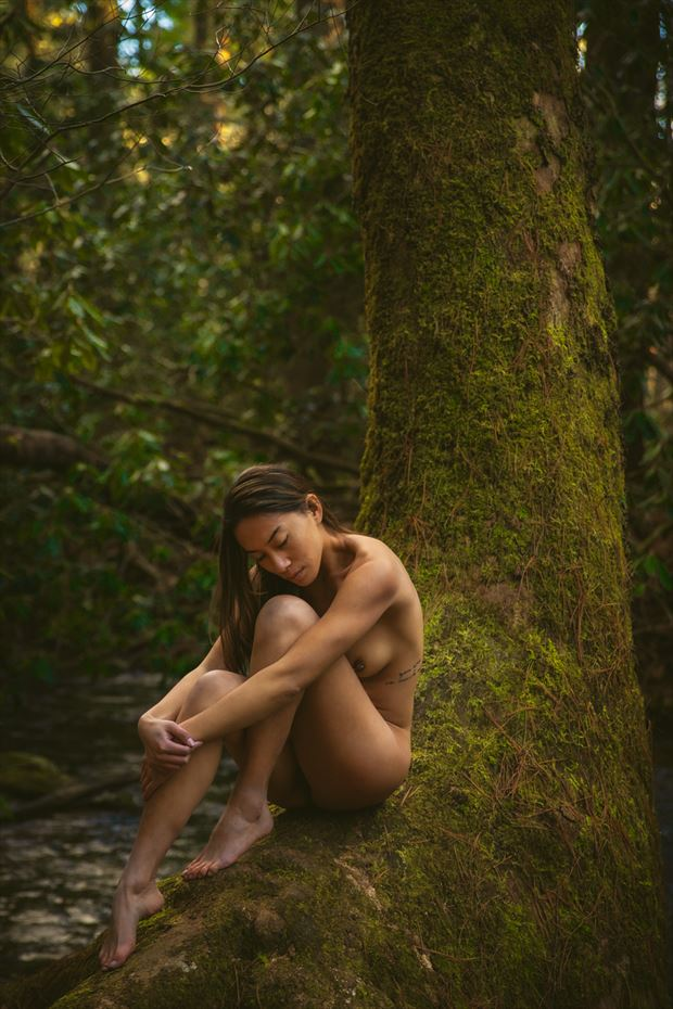 artistic nude nature photo by photographer skinserportraits