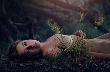 artistic nude nature photo by photographer talisk