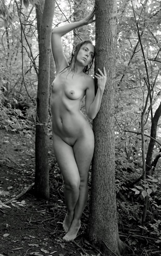 artistic nude nature photo by photographer werner lobert