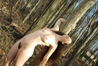 artistic nude nature photo by photographer zames curran