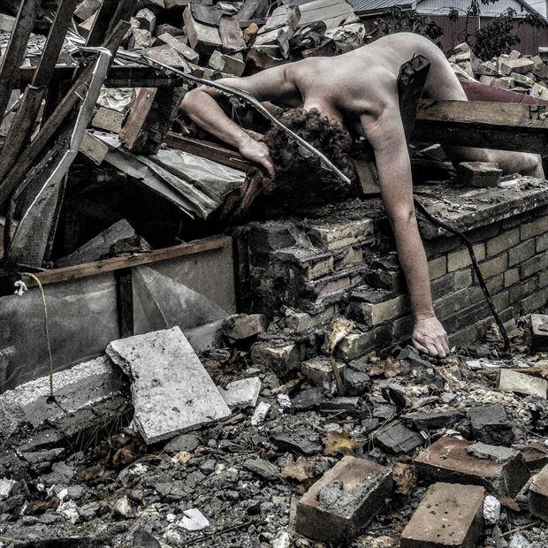 artistic nude photo by artist merle higgins