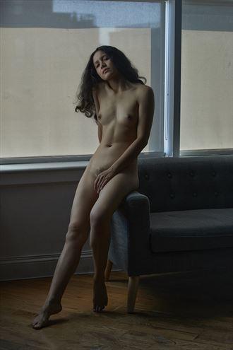 artistic nude photo by model am montoya
