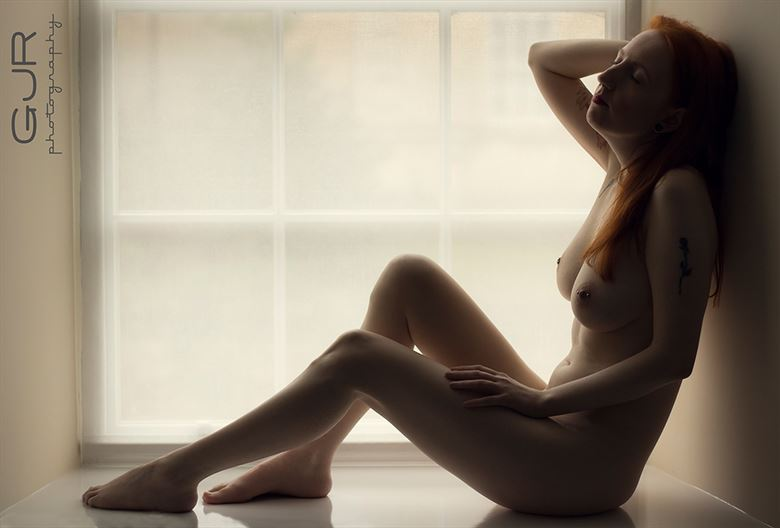 artistic nude photo by model amy scott