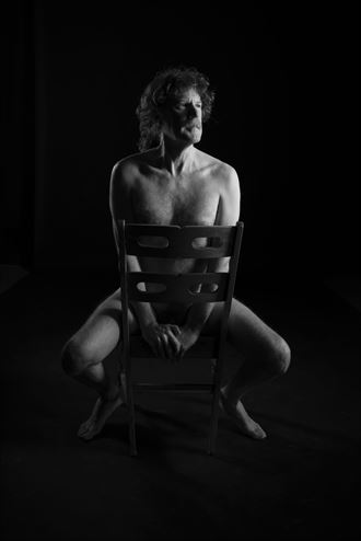 artistic nude photo by model chuck roberts