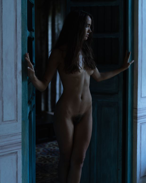 artistic nude photo by model femina