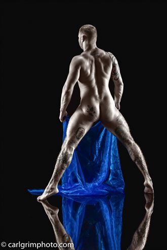artistic nude photo by model joshenton