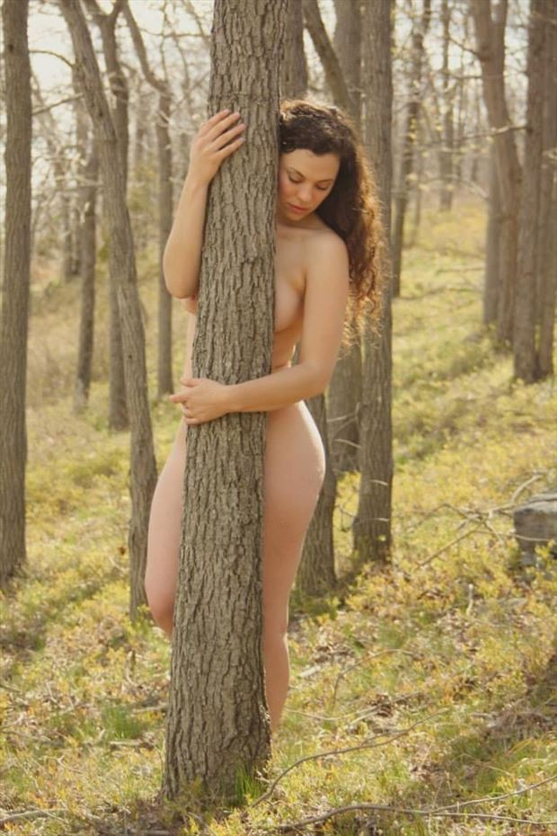 artistic nude photo by model nadinetheresastevens