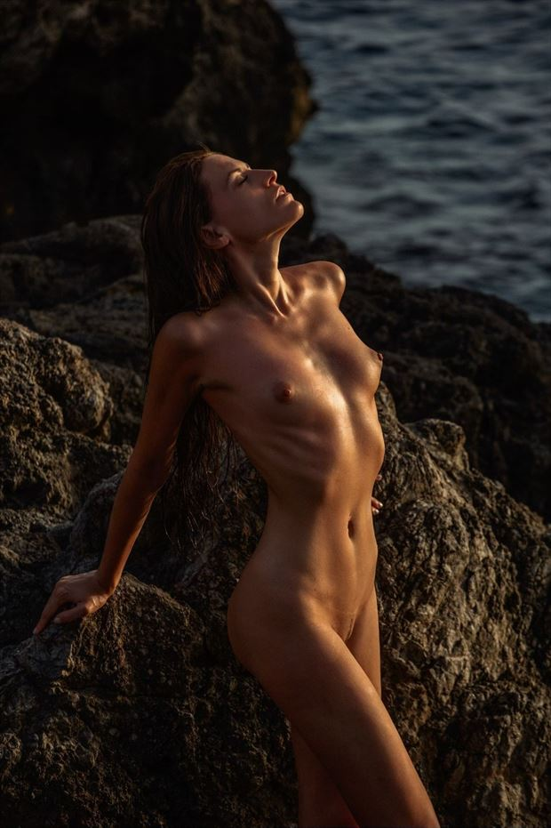 artistic nude photo by model rebecca perry