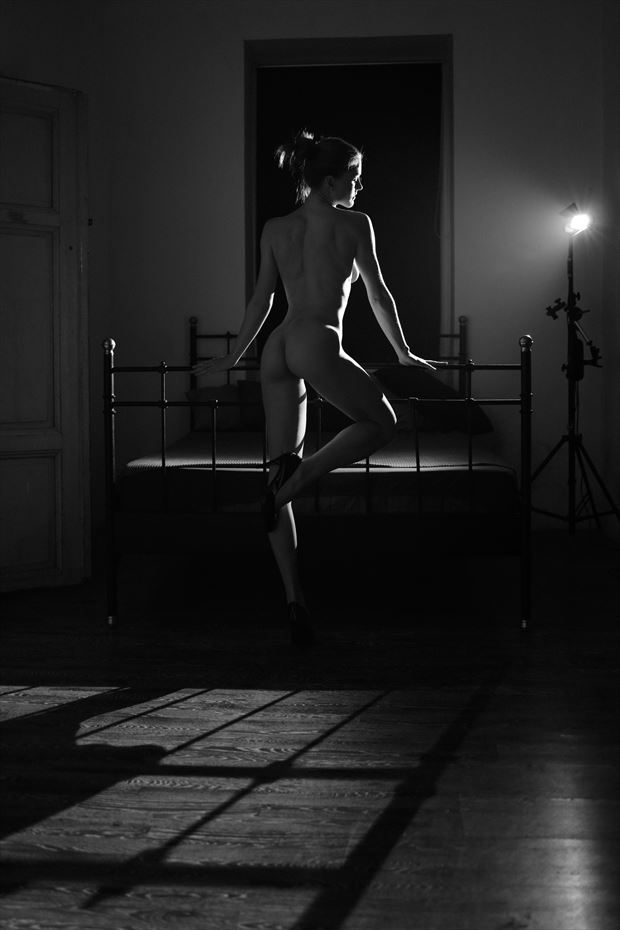 artistic nude photo by model terryz