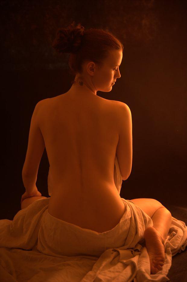 artistic nude photo by photographer adambroniarz