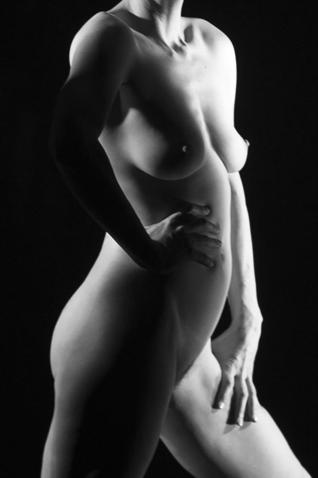 artistic nude photo by photographer af