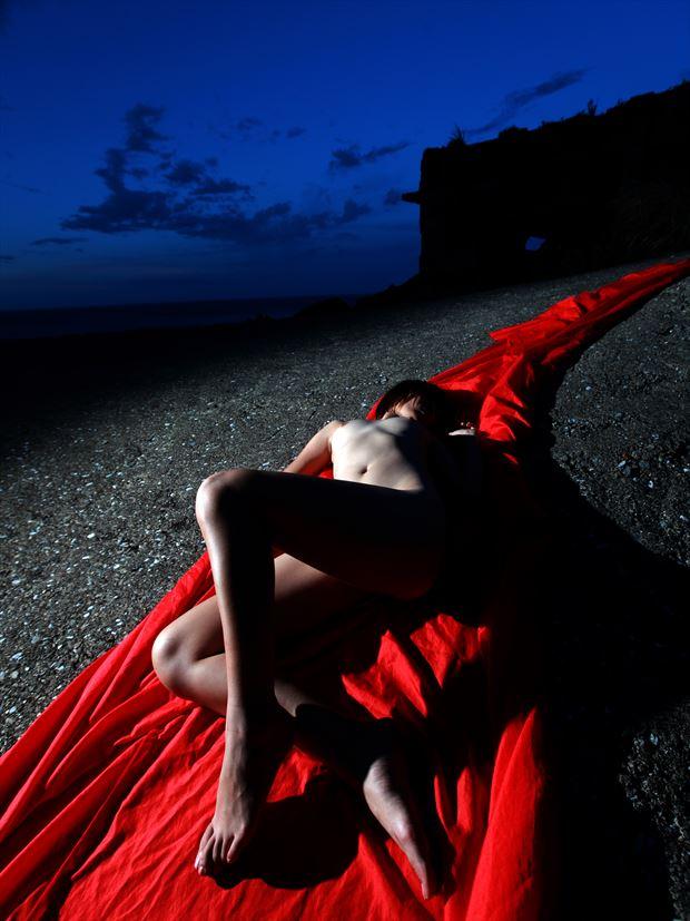 artistic nude photo by photographer chunyin