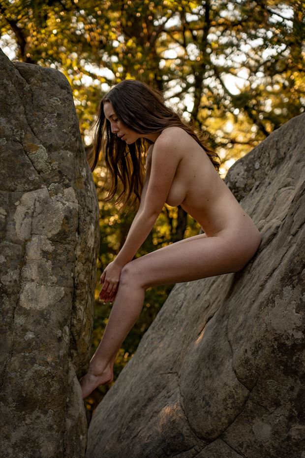 artistic nude photo by photographer dan van winkle