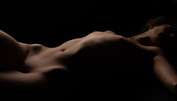 artistic nude photo by photographer eric upside brown