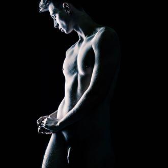 artistic nude photo by photographer fine art photics