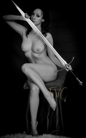 artistic nude photo by photographer fvc