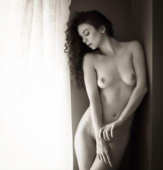 artistic nude photo by photographer gordon david