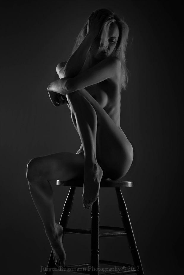 artistic nude photo by photographer j%C3%BCrgen bussmann photography