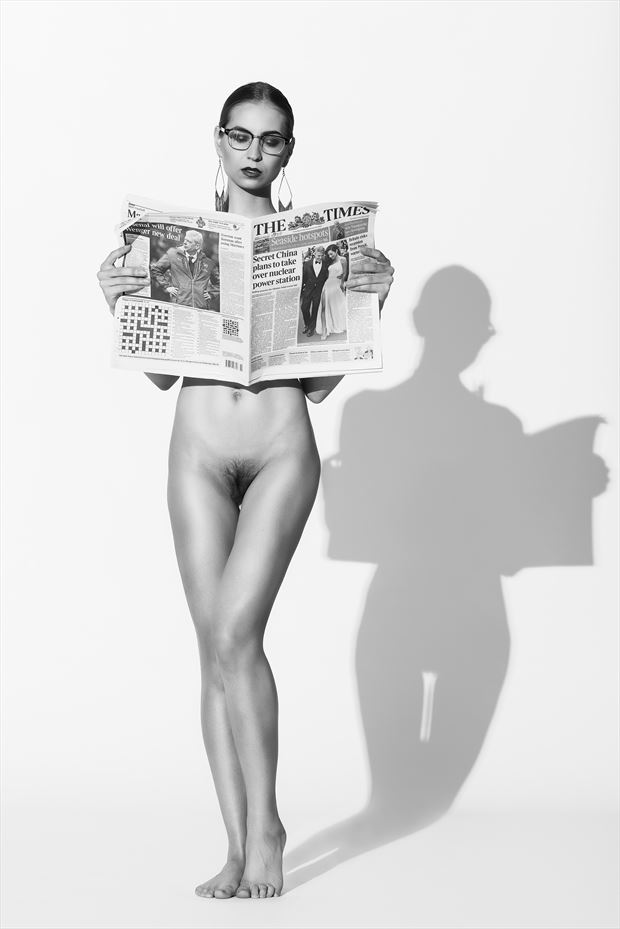 artistic nude photo by photographer janhammerstad
