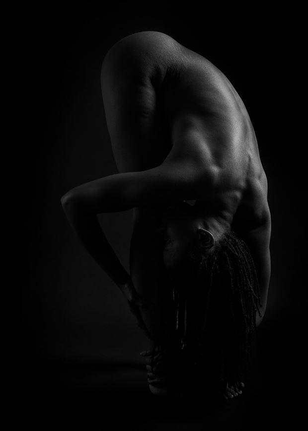 artistic nude photo by photographer krista m muller