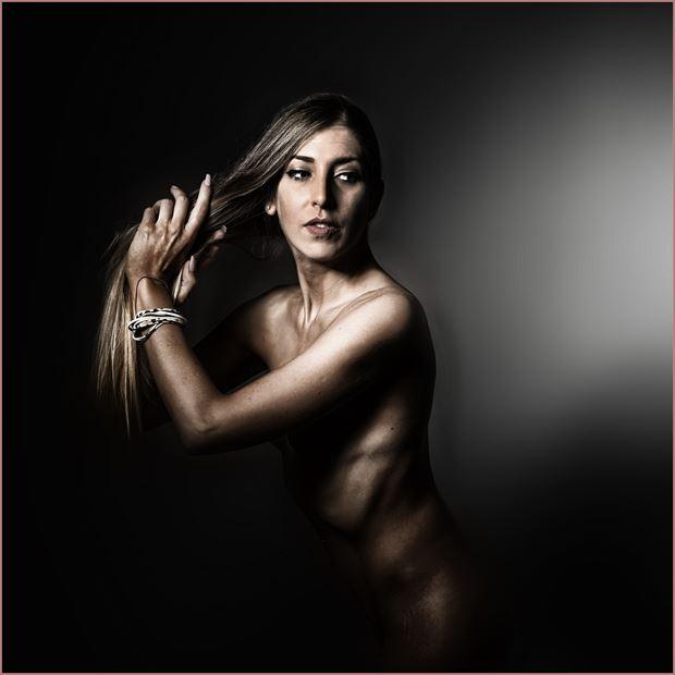 artistic nude photo by photographer modelonaway