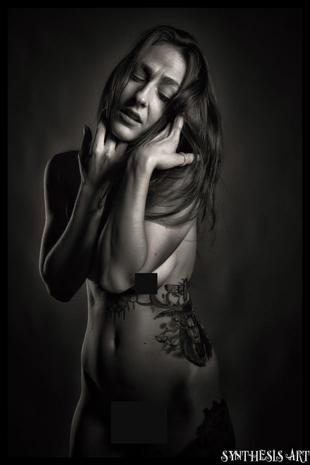 artistic nude photo by photographer synthesis art 1