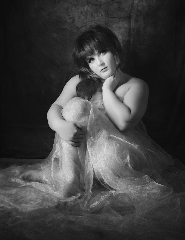 artistic nude photo by photographer woodman chris